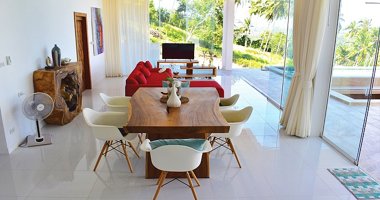 Luxury 4 Bedroom Sea View Pool Villa in Chaweng Hills-3