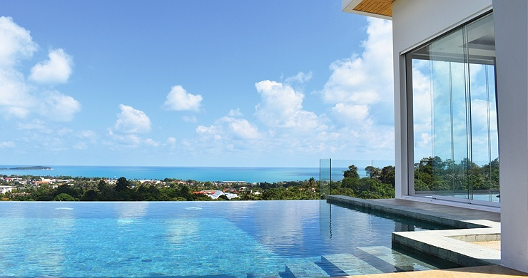Luxury 4 Bedroom Sea View Pool Villa in Chaweng Hills-6