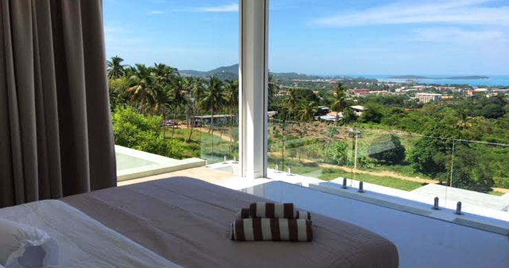 Luxury 4 Bedroom Sea View Pool Villa in Chaweng Hills-10
