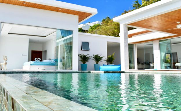 Luxury 4 Bedroom Sea View Villa in Chaweng: 25% Off!