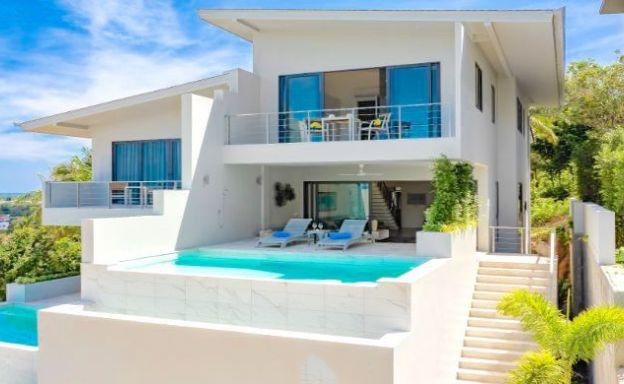 New Luxury 3-4 Bed Ocean View Villas by Bangrak Bay