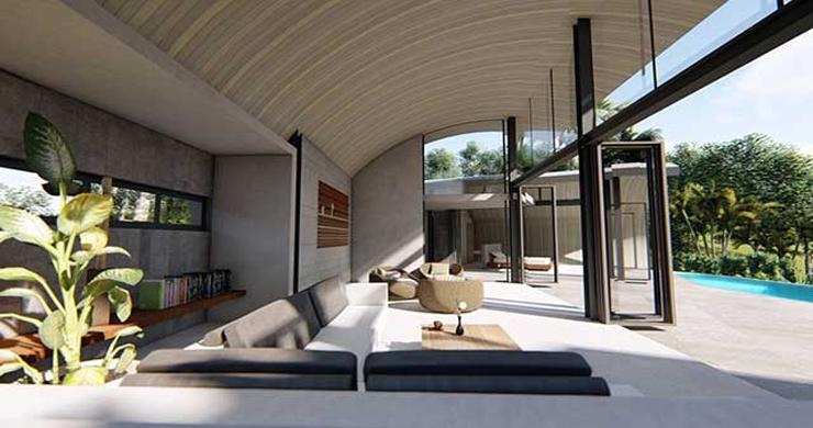 Unique Modern 2-3 Bed Sea View Villas in Chaweng Noi  -13