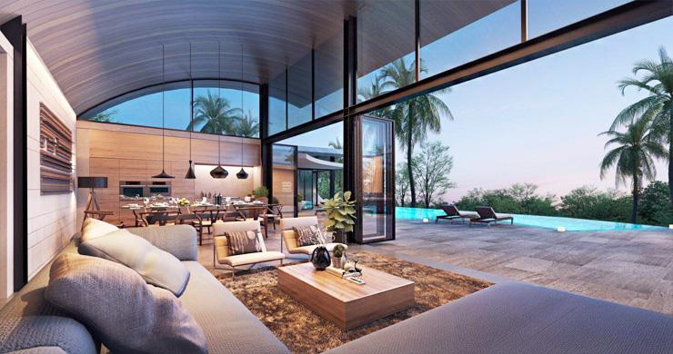 Unique Modern 2-3 Bed Sea View Villas in Chaweng Noi  -3