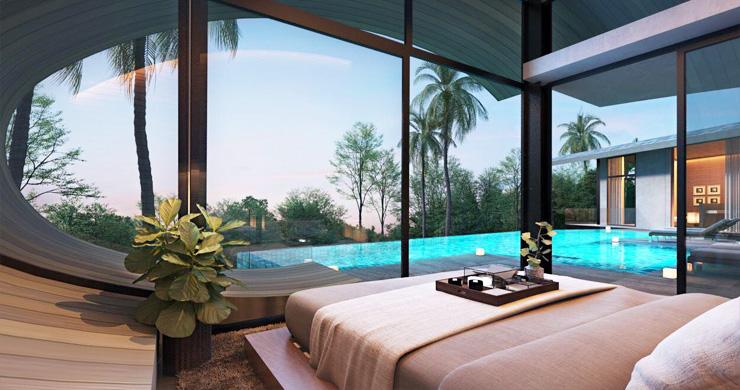 Unique Modern 2-3 Bed Sea View Villas in Chaweng Noi  -6
