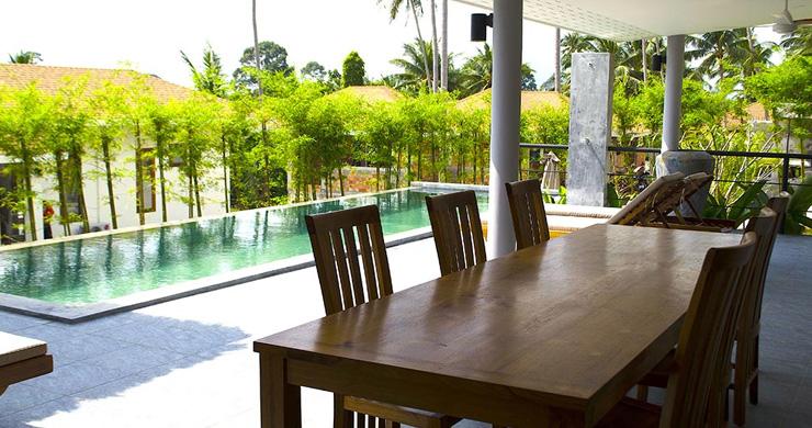 Modern 3 Bedroom Tropical Pool Villa in Lamai-5