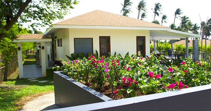 Modern 3 Bedroom Tropical Pool Villa in Lamai-2
