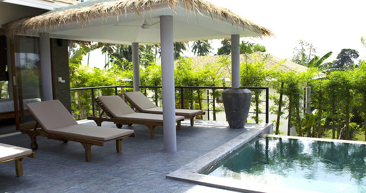 Modern 3 Bedroom Tropical Pool Villa in Lamai-3