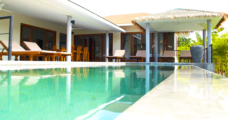 Modern 3 Bedroom Tropical Pool Villa in Lamai-1