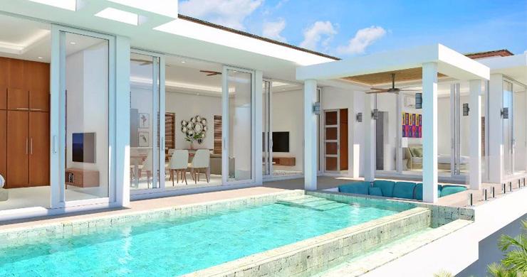 New 3 Bedroom Sea View Luxury Pool Villas in Bophut -1