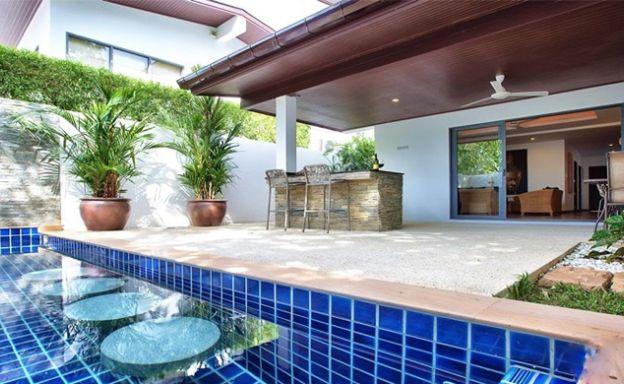 3 Bedroom Tropical Pool Villa for Sale in Plai Laem