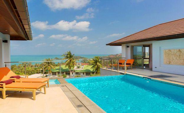 Exclusive 3 Bedroom Sea View Villa on Cheong Mon Bay