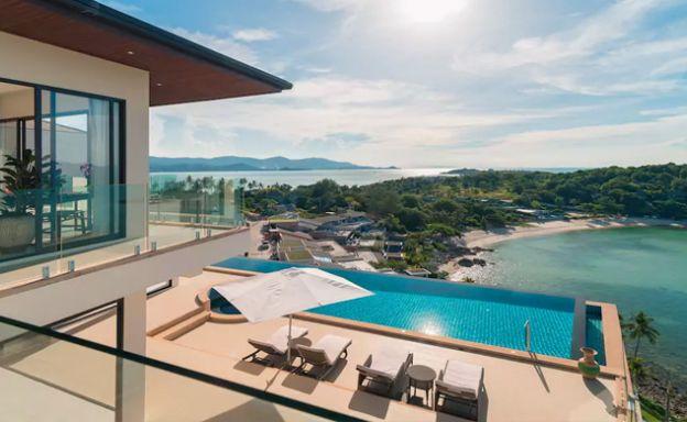 Gorgeous 6 Bedroom Luxury Sea View Villa in Plai Laem