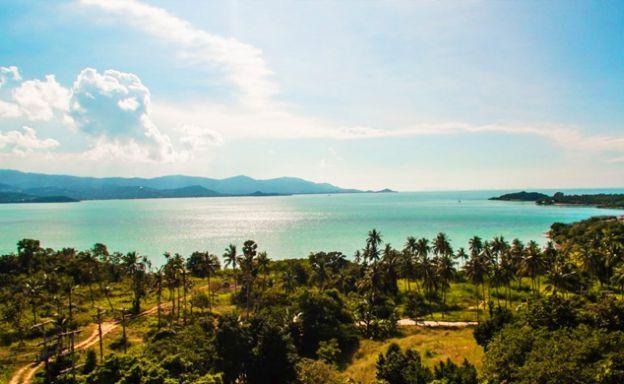 Pristine Panoramic Sea view Land Plot on Plai Laem