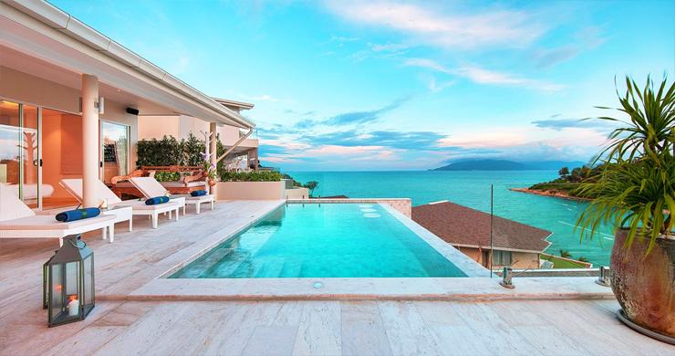 Sumptuous Sea View Modern Villa by Samrong Beach-1
