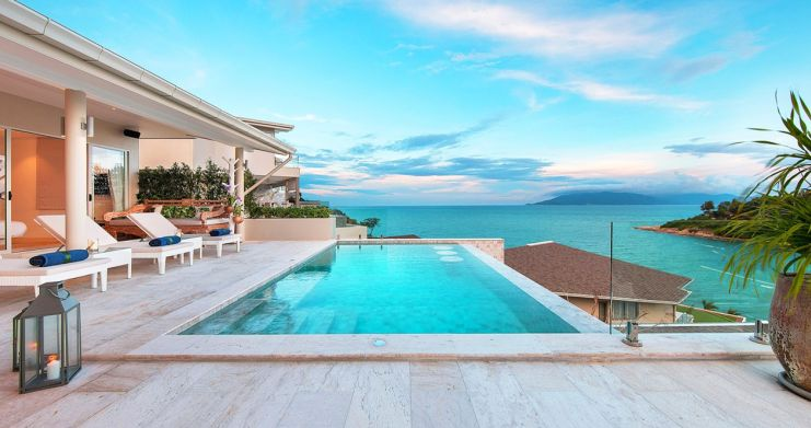 Sumptuous Sea View Modern Villa by Samrong Beach-8