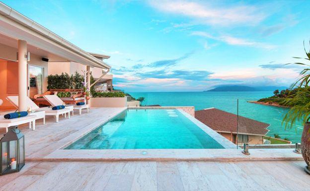 Sumptuous Sea View Modern Villa by Samrong Beach