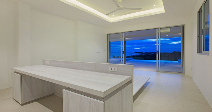 Spectacular Sea View Modern Villa by Six Senses Beach-15