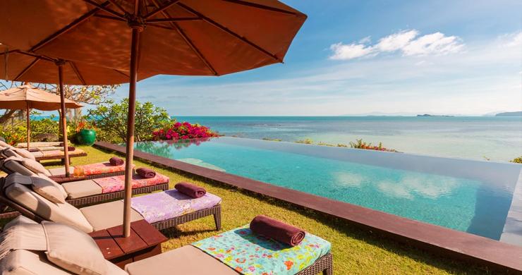 Prestigious 7 Bed Beachfront Luxury Villa in Laem Set-2
