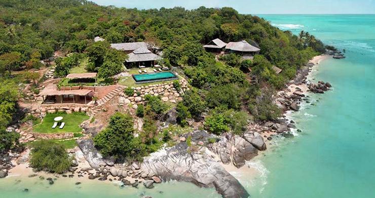 Prestigious 7 Bed Beachfront Luxury Villa in Laem Set-1
