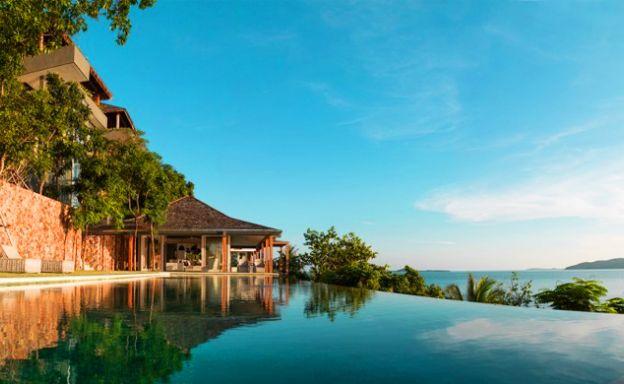 Sensational Beachfront Villa on Laem Sor Headland