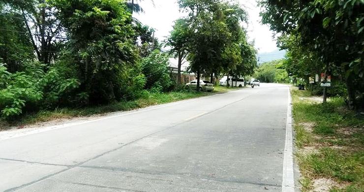 Koh Samui Beachfront Land for Sale on Lipa Noi Bay-8
