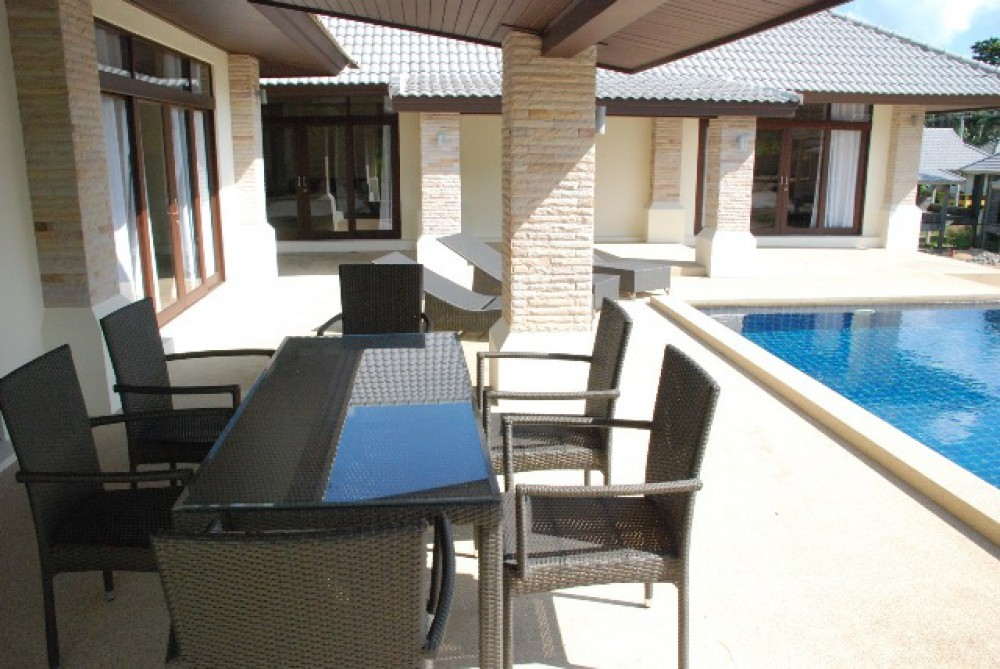 Tropical 3 Bedroom Pool Villa in Peaceful Bophut-5