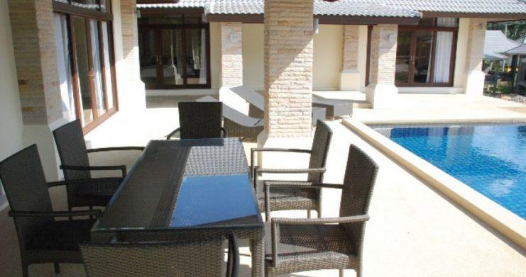 Tropical 3 Bedroom Pool Villa in Peaceful Bophut-5