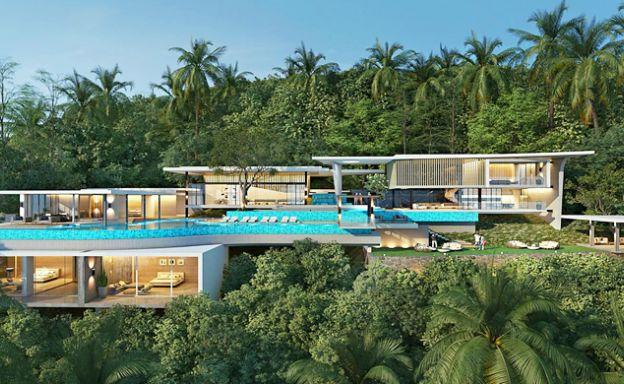 New Luxury Boutique Sea View Villas in Ban Makham