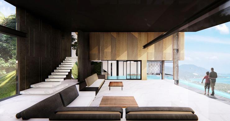 Stylish 3 Bedroom Sea View Villas in Ban Makham-3