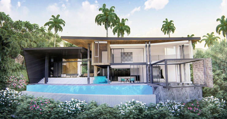 Stylish 3 Bedroom Sea View Villas in Ban Makham-2