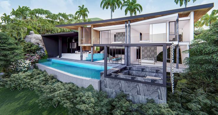 Stylish 3 Bedroom Sea View Villas in Ban Makham-1