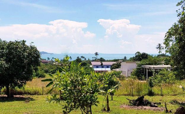 Large Peaceful Sea view Land Plot in Plai Laem