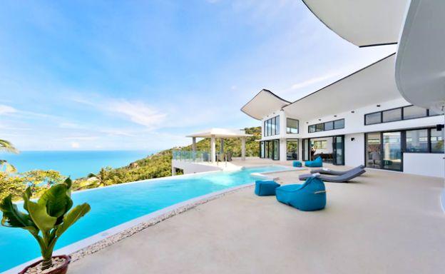 Sensational Sea View Luxury Pool Villa in Chaweng Noi