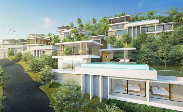 Contemporary 4 Bedroom Luxury Villas in Chaweng Noi