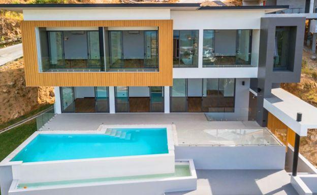 Striking Modern Sea View Luxury Villas in Chaweng Noi