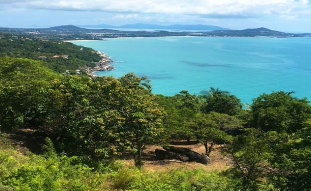 270° Panoramic Sea View Land in Chaweng Noi