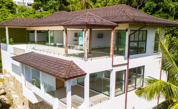 Tropical Modern 5 Bedroom Villa on Lamai Hillside