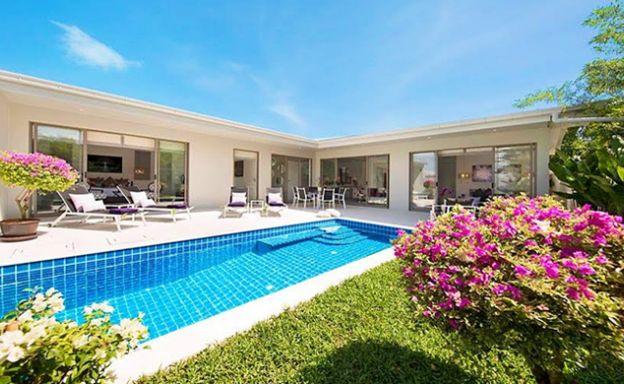 Charming 3 Bedroom Luxury Pool Villa in Plai Laem