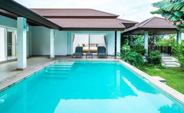 Modern 2 Bedroom Sea view Pool Villa in Choeng Mon