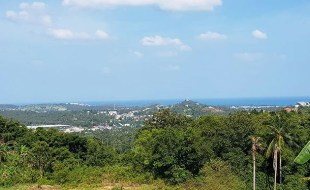 Affordable Sea view Investment Land Plots in Bophut