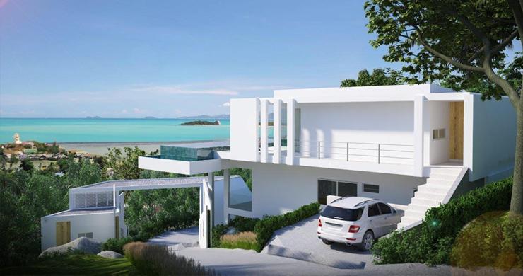 Unique New 4 Bed Sunset Sea view Villas in Big Buddha-5