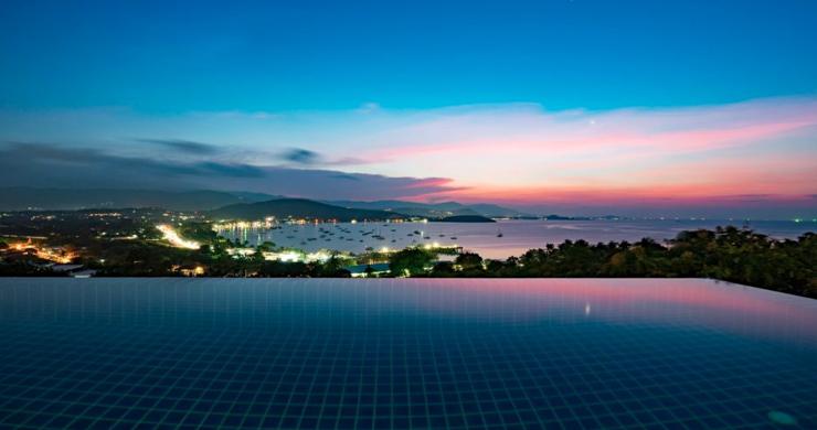 Unique New 4 Bed Sunset Sea view Villas in Big Buddha-9