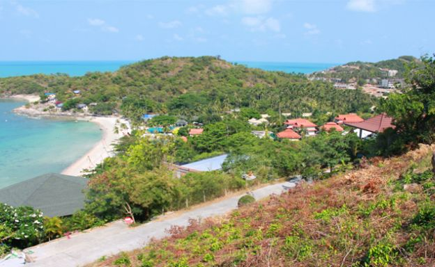 Stunning New Sea View Land for Sale by Plai Laem