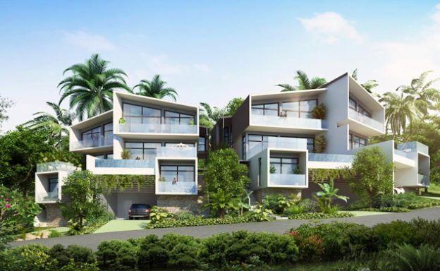 Luxury 4 Bed Sea View Villas by Choeng Mon Beach