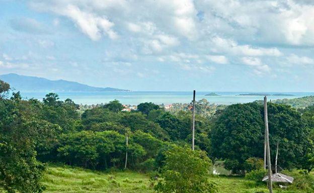 Beautiful Koh Samui Sea view Land for Sale in Bophut