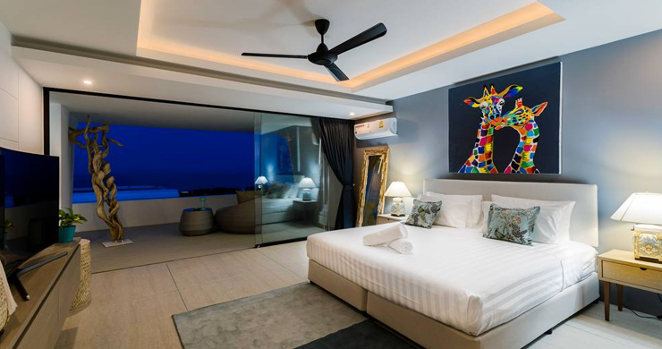 Luxury Sea view 3 Bed Modern Pool Villa on Chaweng-16