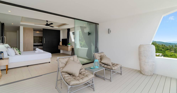 Luxury Sea view 3 Bed Modern Pool Villa on Chaweng-6