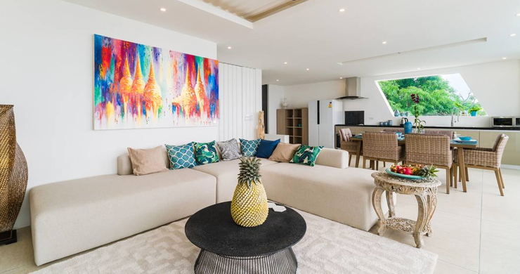 Luxury Sea view 3 Bed Modern Pool Villa on Chaweng-3