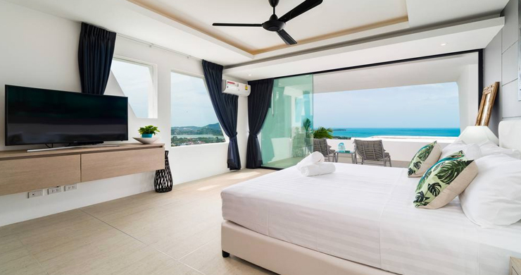 Luxury Sea view 3 Bed Modern Pool Villa on Chaweng-7