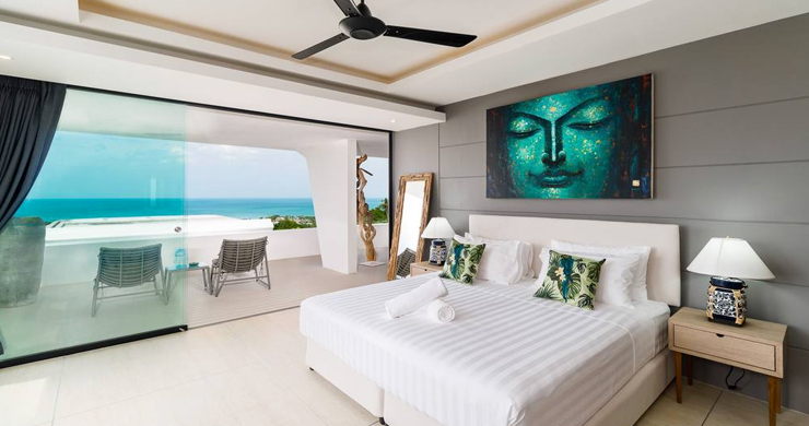 Luxury Sea view 3 Bed Modern Pool Villa on Chaweng-9